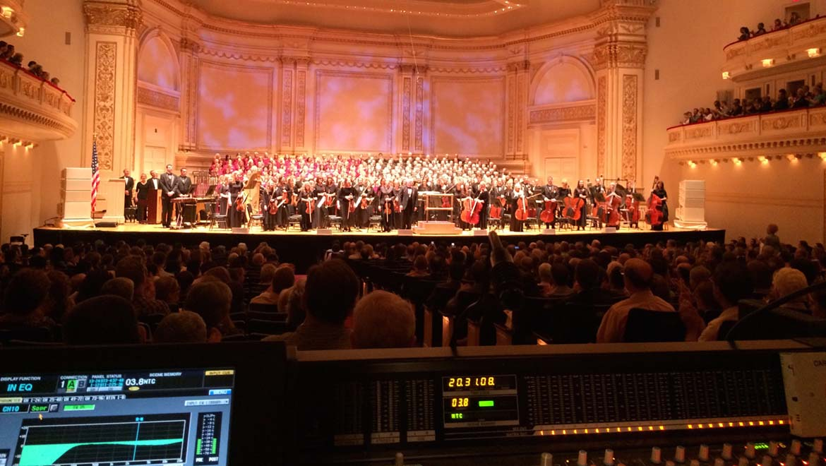 DPA Microphones creates perfect harmony with The Mormon Tabernacle Choir