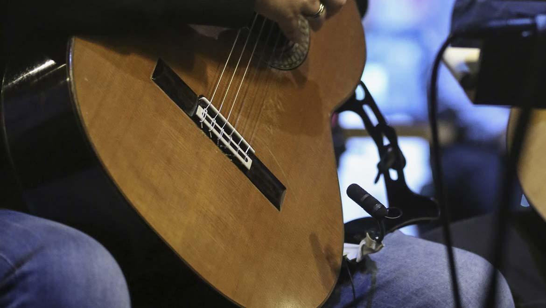 d:vote™ 4099G on guitar