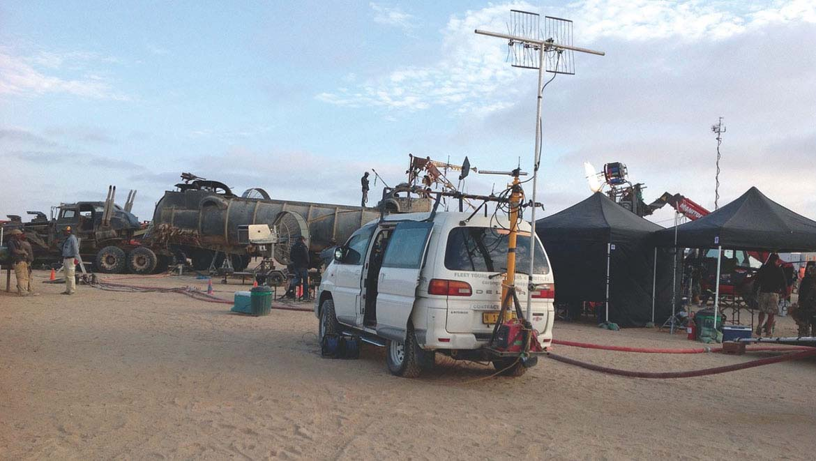 DPA Microphones Help Capture the Sound on Mad Max: Fury Road