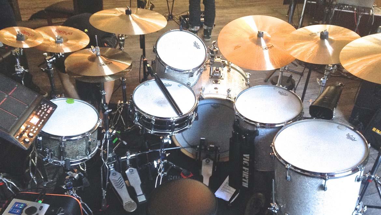 DPA Microphones' d:vote™ 4099 on Mezzoforte's drums