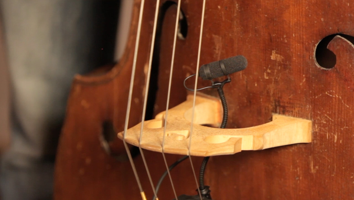 How to mic and record a double bass