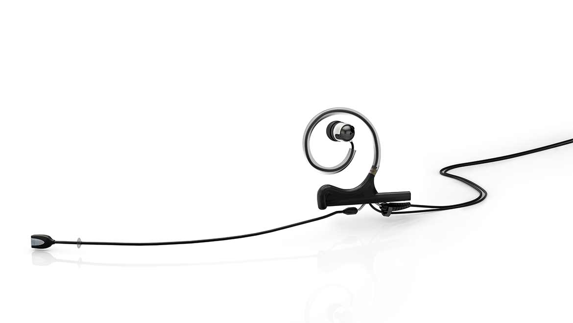 d:fine™ In-Ear Broadcast Headset Microphone