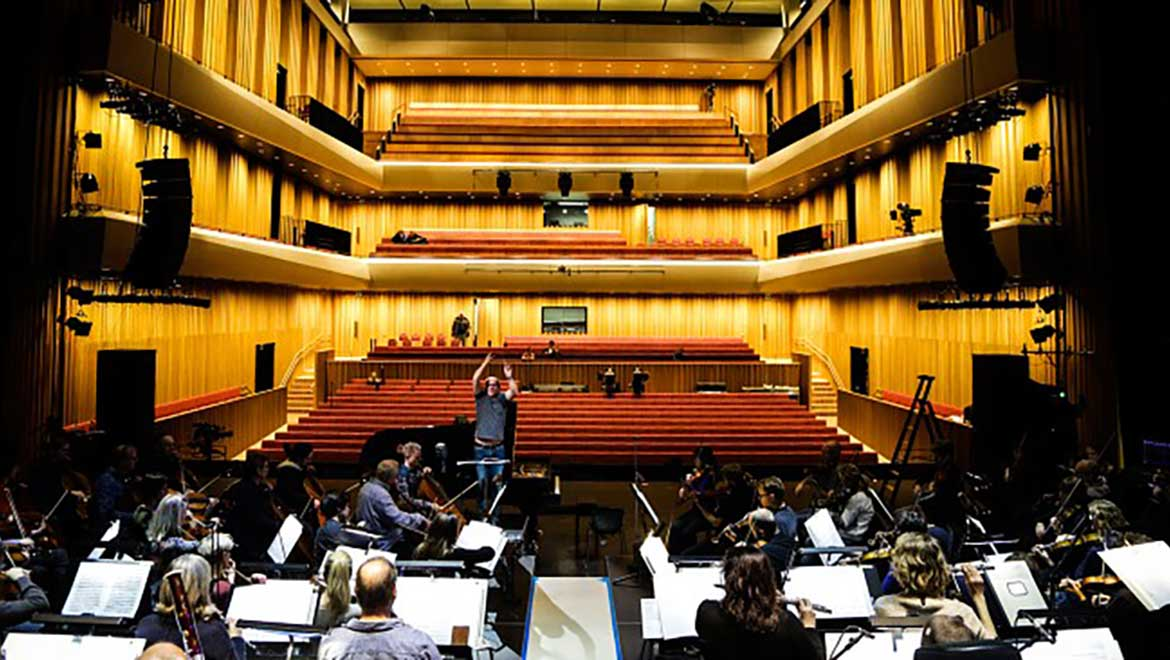 Stormen Concert Hall in Norway.