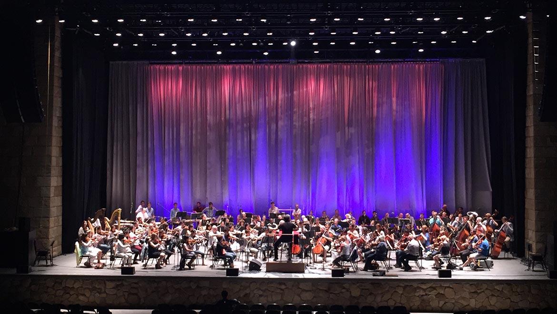 NY Philharmonic Rehersal.