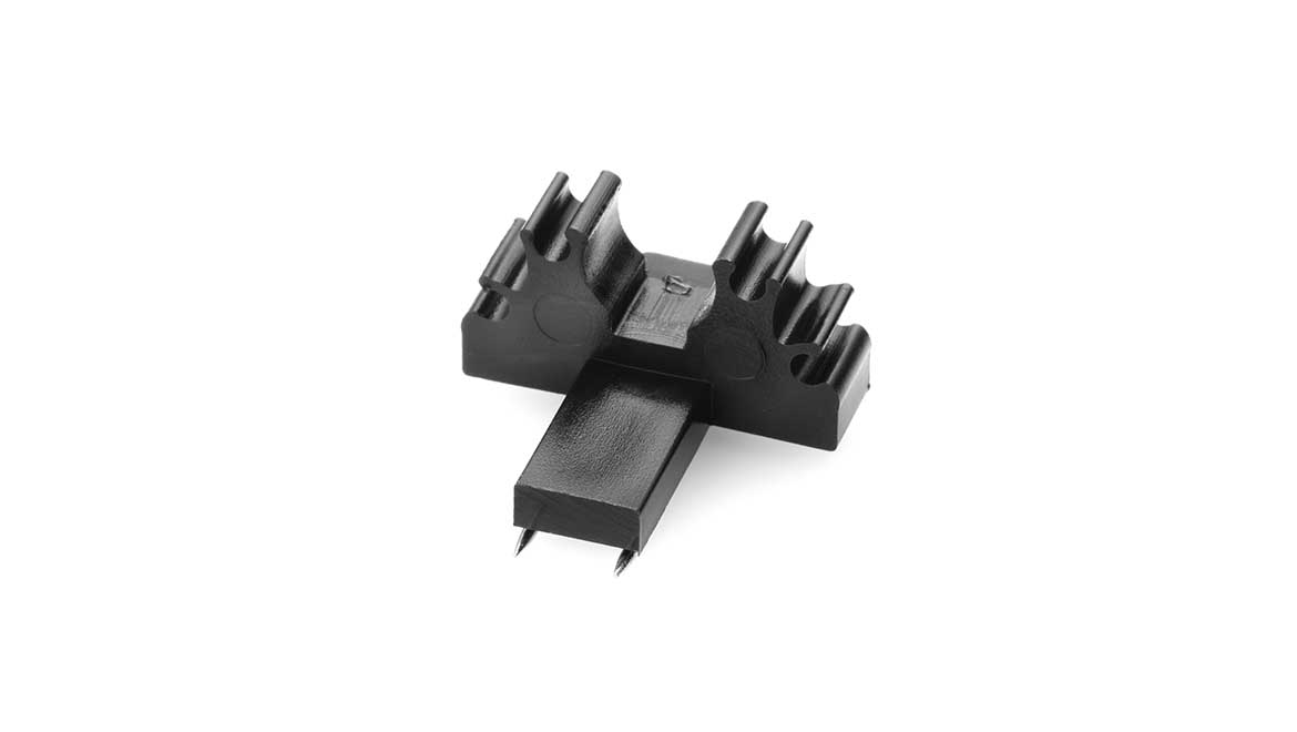 Holder with Double Pin for Lavalier Microphones (DMM0002-B)