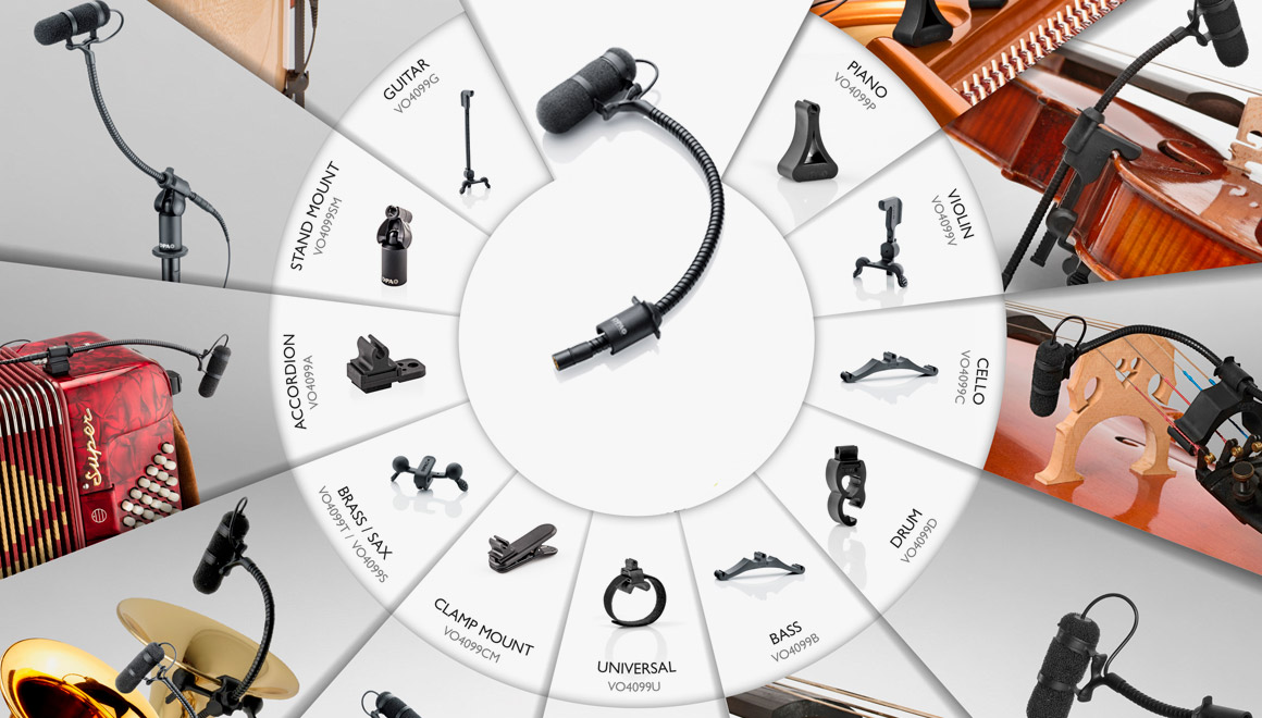 Live microphones - The best performance mics for live sound