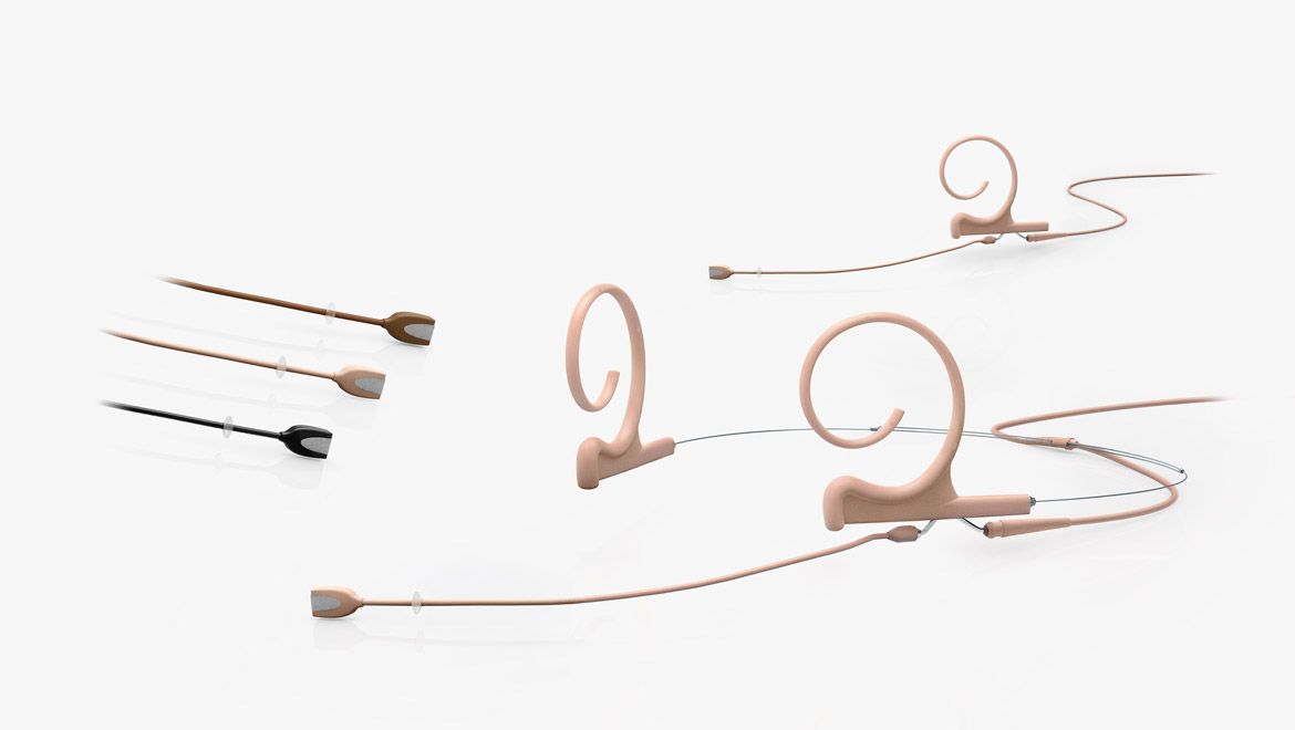 Headsets and earsets for installation