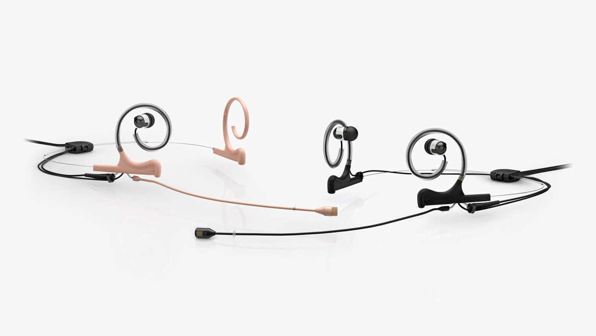In-Ear Broadcast Headset Microphone