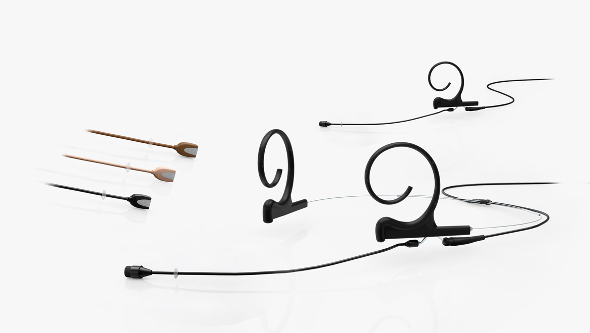 Flex Omnidirectional Headset and Earset Microphone