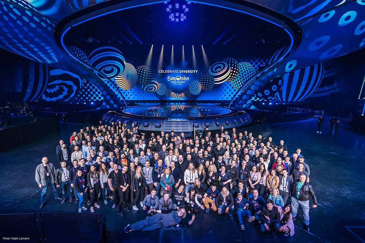 The Eurovision Song Contest 2017 crew